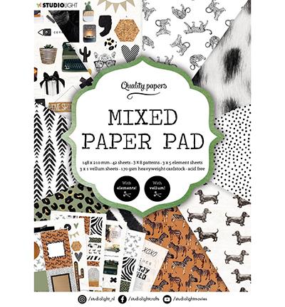 SL Mixed Paper Pad Pattern paper Essentials nr.5