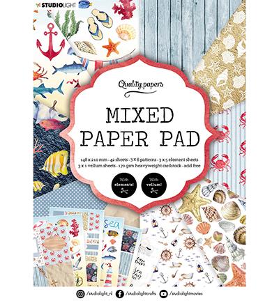SL Mixed Paper Pad Pattern paper Essentials nr.7