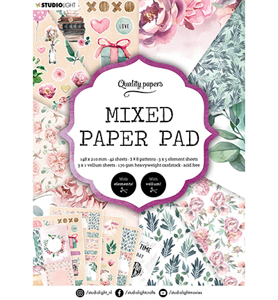 SL Mixed Paper Pad Pattern paper Essentials nr.8