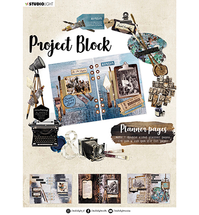 SL Project block Planner pages Artists Atelier Essentials nr.03