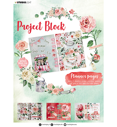 SL Project block Planner pages Roses Essentials nr.04