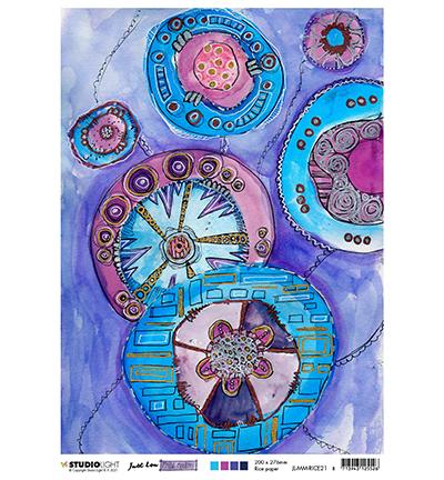 JL Rice Paper Big Moodle Mindful Moodling nr.21