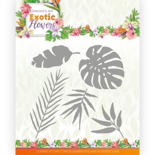 Dies - Jeanine's Art - Exotic Flowers - Exotic Leafs