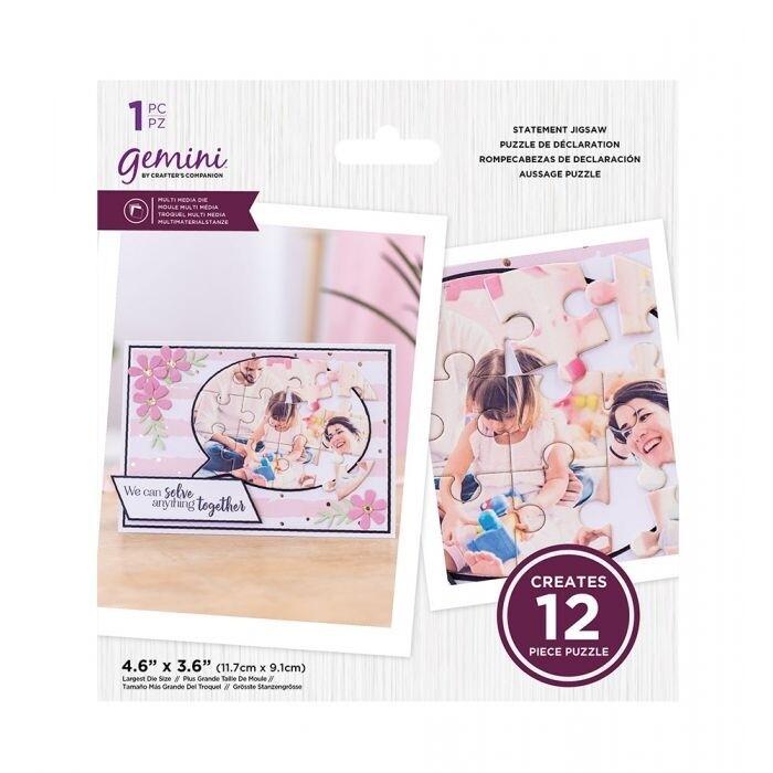 Gemini - Multimedia snijmal - Statement Puzzel
