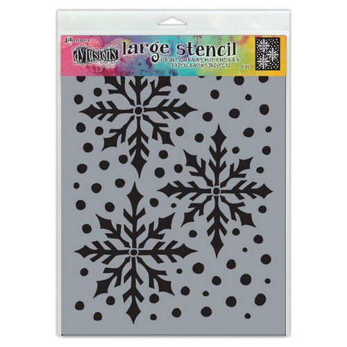 Ranger Dylusions Stencils Ice Queen Lg DYS78029 Dyan Reaveley (07-21)