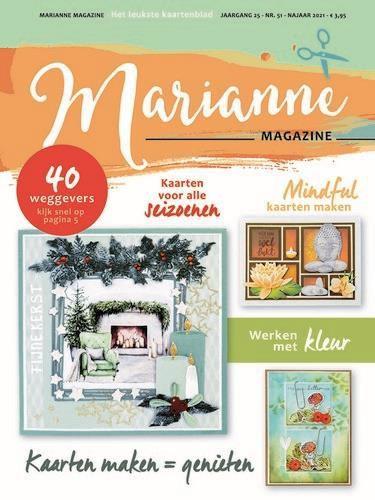Marianne D Magazine Marianne nr 51 Marianne 51 21x30cm (08-21)