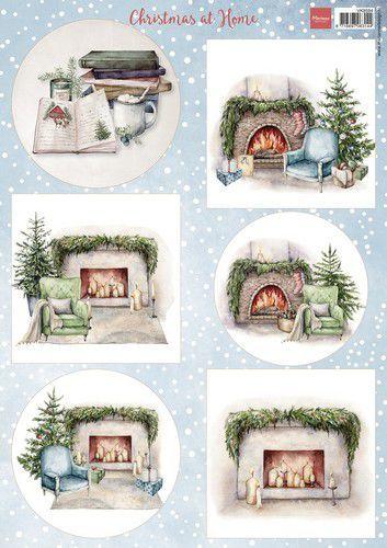 Marianne D Decoupage Kerst thuis VK9594 A4 (08-21)