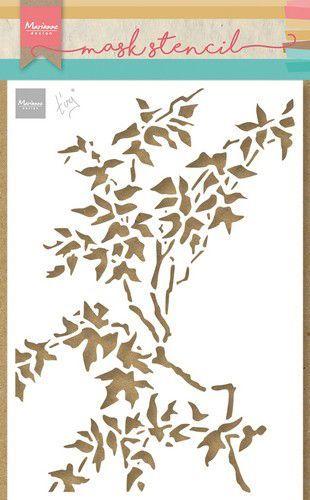 Marianne D Craft Stencil - Tiny's Bladeren PS8101 21x15cm (08-21)