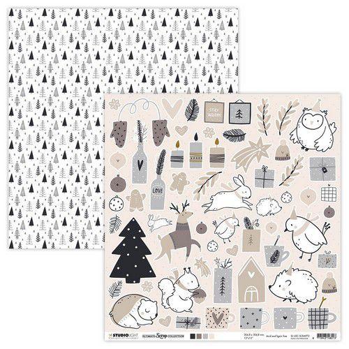 Studio Light Scrap Ultimate Scrap Christmas Collection nr.72 SL-USC-SCRAP72 305x305mm (08-21)