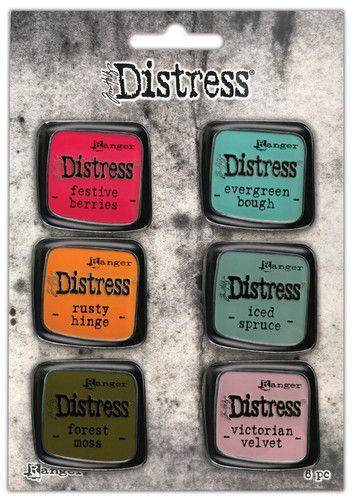 Ranger Distress Pin-Carded -Distress Pin Set 9 - 6 st TDZS73512 Tim Holtz (07-21)