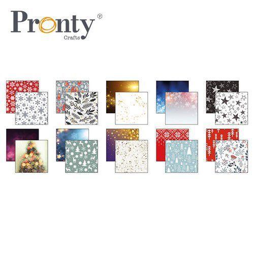 Pronty papier 30,0x30,0cm ass. Kerst 10 vl 471.201.001 (07-21)