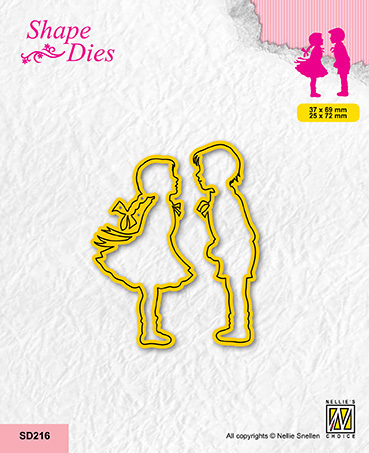 SD216 Shape dies Girl and boy