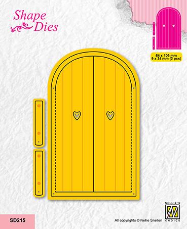 SD215 Shape dies Door