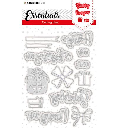 SL Cutting Die Christmas Prettige Feestdagen NL 3 Essentials nr.118