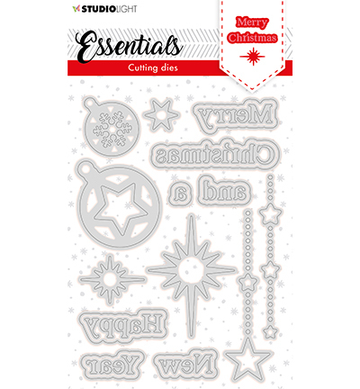 SL Cutting Die Christmas Merry Christmas ENG 2 Essentials nr.119