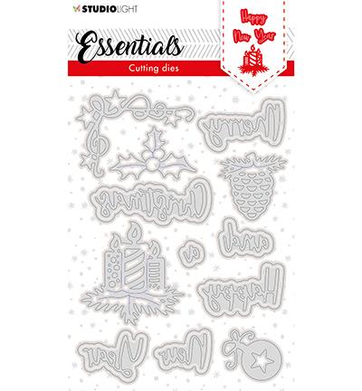 SL Cutting Die Christmas Merry Christmas ENG 3 Essentials nr.120