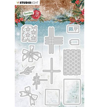 SL Cutting Die Build a gift Sending Joy nr.48