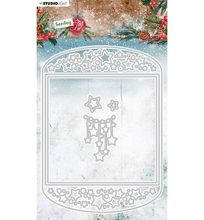 SL Cutting Die Card shape Sending Joy nr.54