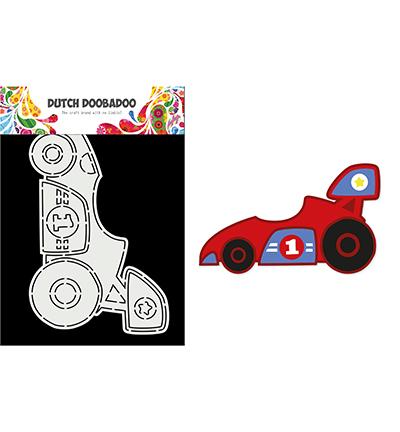 Card Art Race Car