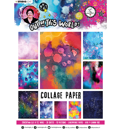 ABM Collage Paper Pattern Paper Out Of This World nr.14