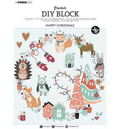 SL DIY Block Happy Christmas Essentials nr.12