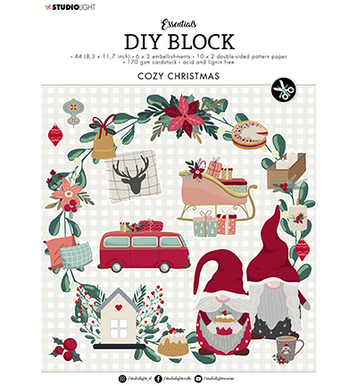 SL DIY Block Cozy Christmas Essentials nr.14