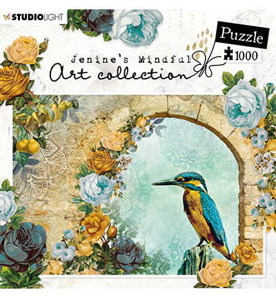 JMA Puzzle Kingfisher in arch New Awakening 1000 pcs nr.01