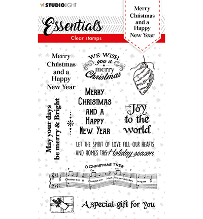 SL Clear stamp Christmas Merry Christmas ENG Essentials nr.86