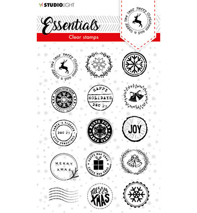 SL Clear stamp Christmas Post stamps Essentials nr.92