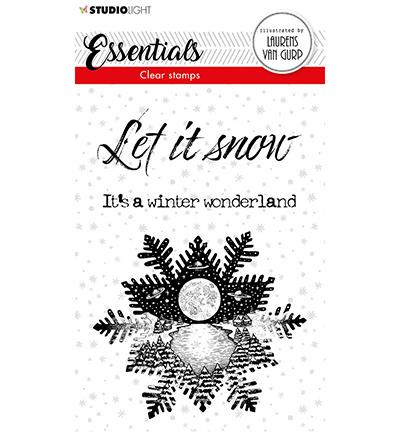 BL Clear stamp Snowflake Essentials nr.113