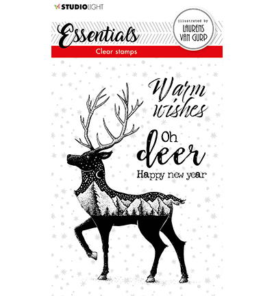 BL Clear stamp Deer Essentials nr.115