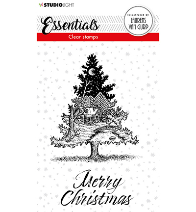 BL Clear stamp Christmas Tree Essentials nr.117