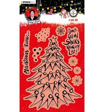 ABM Clear Stamp Christmas Tree Essentials nr.82