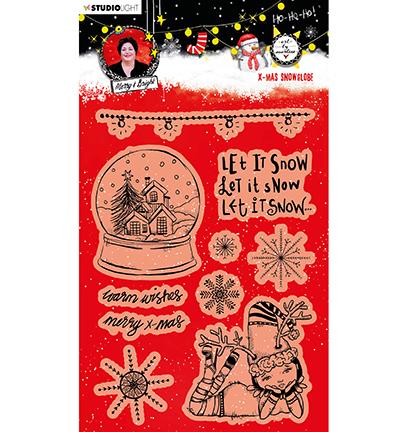 ABM Clear Stamp Christmas Snow Globe Essentials nr.83