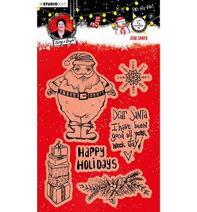 ABM Clear Stamp Christmas Dear Santa Essentials nr.84