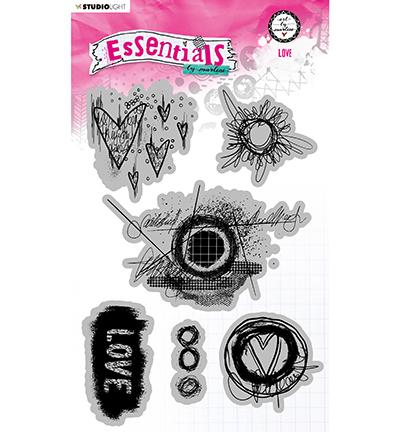 ABM Cling Stamp Love Essentials nr.80