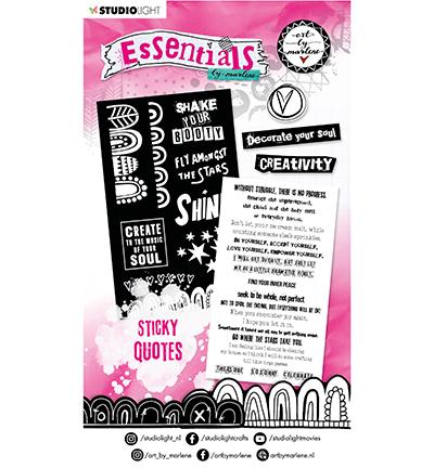 ABM Sticker Pad Sticky Quotes Essentials nr.03