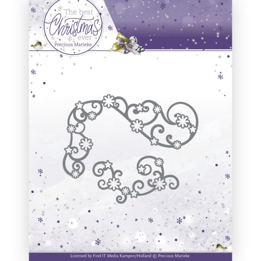 Dies - Precious Marieke - The Best Christmas Ever - Star Swirls