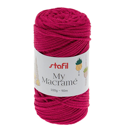 Macrame Yarn, Pink