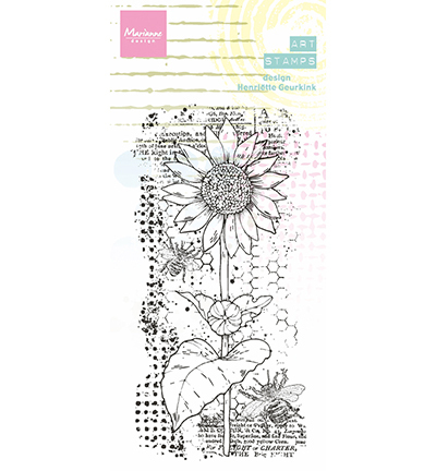 Arts stamps Sunflower