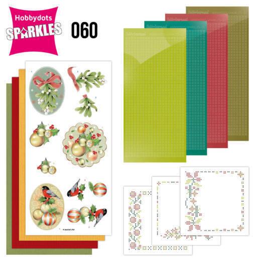 Sparkles Set 60 - Jeanine's Art - Christmas Baubles