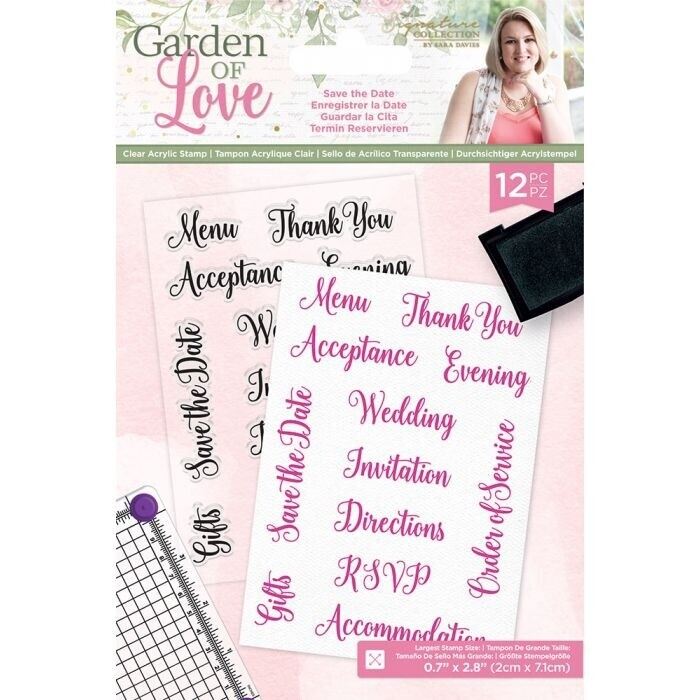 Garden of Love - Photopolymer Stamp - Save the Day