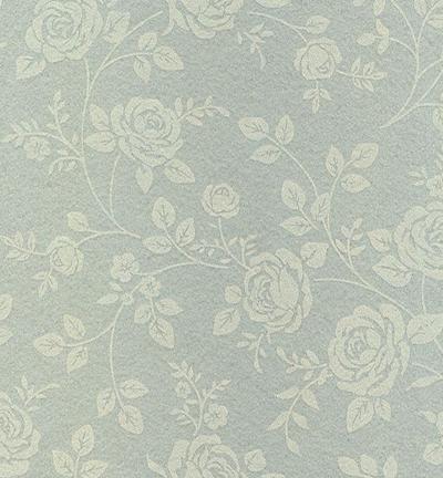 Felt roses, Grey Silver/Sand