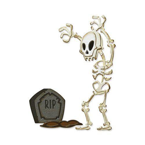 Sizzix Thinlits Die Set 9PK - Mr. Bones, Colorize 665554 Tim Holtz (08-21)