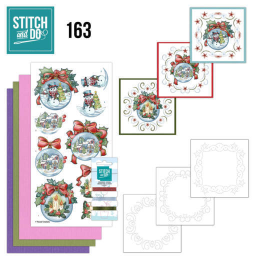 Stitch and Do 163 - Yvonne Creations - Wintry Christmas
