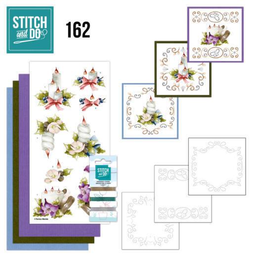 Stitch and Do 162 - Precious Marieke - Christmas Arrangement