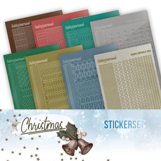 Creative Hobbydots Stickerset 17 - Christmas
