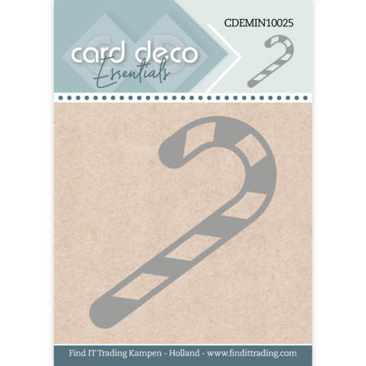 Card Deco Essentials - Mini Dies - Candy Cane