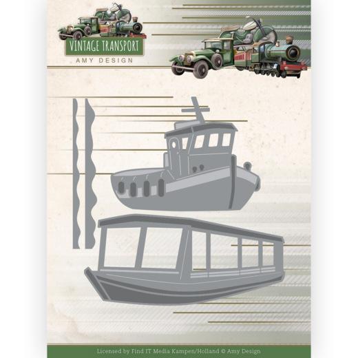 Dies -Amy Design - Vintage Transport - Boats