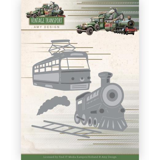 Dies - Amy Design - Vintage Transport - Train